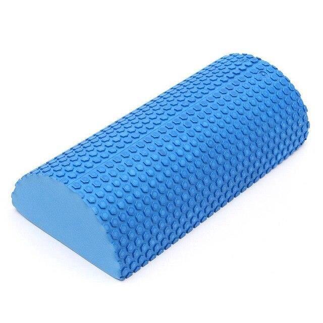 Nouveau demi rond EVA Yoga mousse rouleau mousse rouleau Massage Point flottant Yoga rouleau Fitness exercice Yoga blocs ES10492