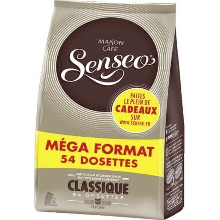 MAISON DU CAFE Senseo Café Dosettes Classique x54