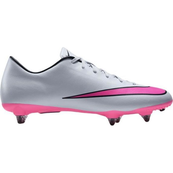 Chaussures Football Mercurial Victory V SG Gris/Rose