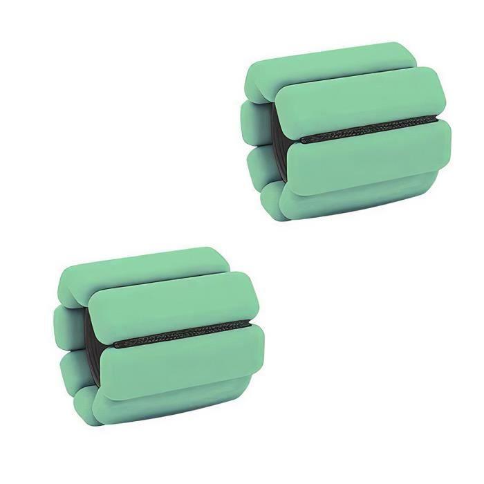 en silicone et en acier Bracelet portatif pour outil d'entraînement au poignet et à la cheville Bracelet de poids