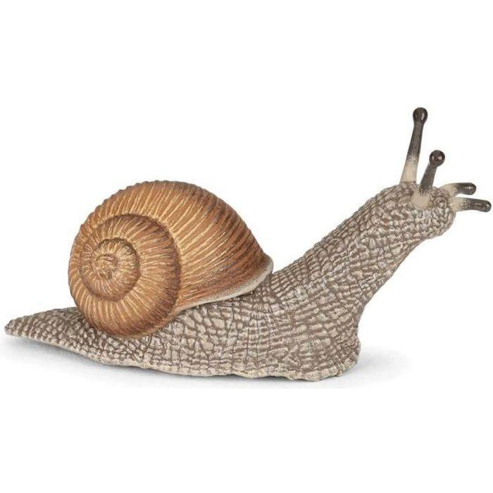 Figurine Escargot Coloris Unique