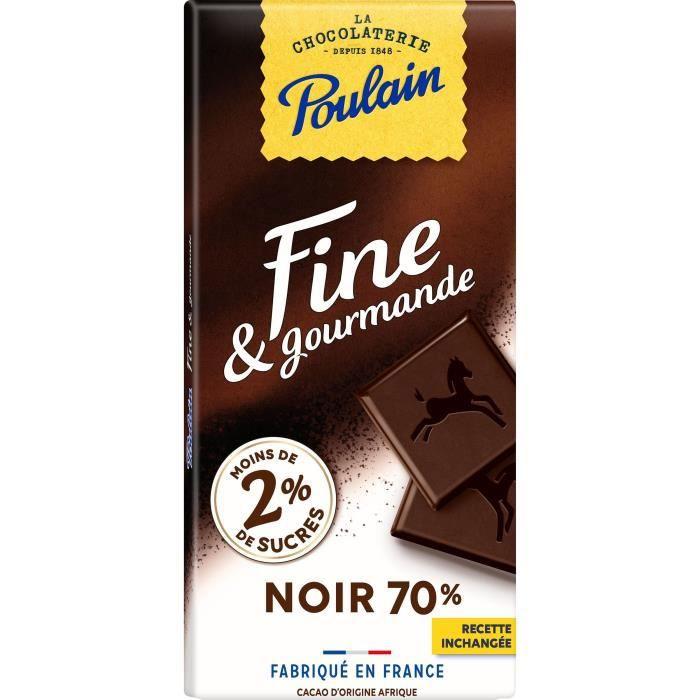 POULAIN Chocolat Fine & Gourmande Noir - 100 g