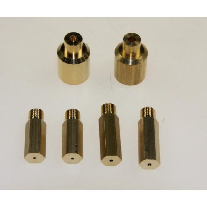 Sachet injecteurs gaz naturel pour cuisinière SAUTER 4604192 - - CD8449F1 - CD8449F11(DE DIETRICH) - BVMPièces