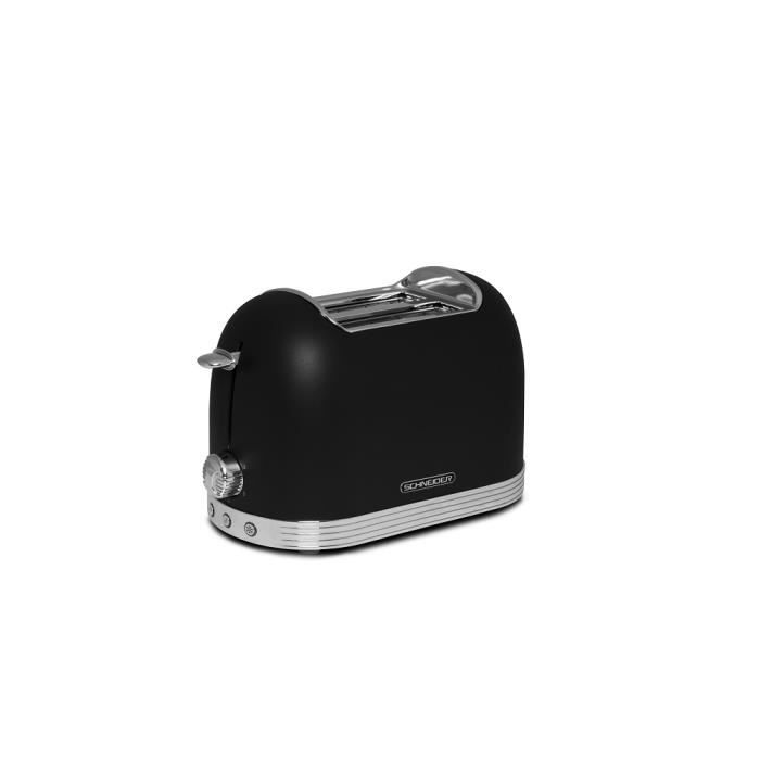 Toaster SCHNEIDER VINTAGE NOIR SCTO2B
