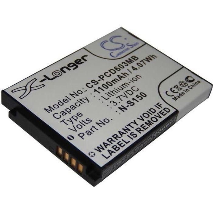 Batterie de rechange pour écoute-bébé Babyphone Avent SCD603, SCD-603-00, SCD-603H - Remplace : SN-S150 - Technologie : Li-Ion - …