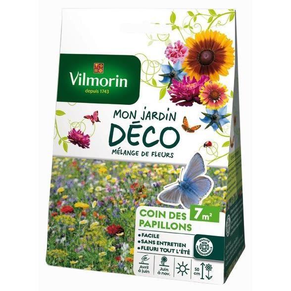 VILMORIN Mélange graines de fleurs COIN DES PAPILLONS - 7 m²