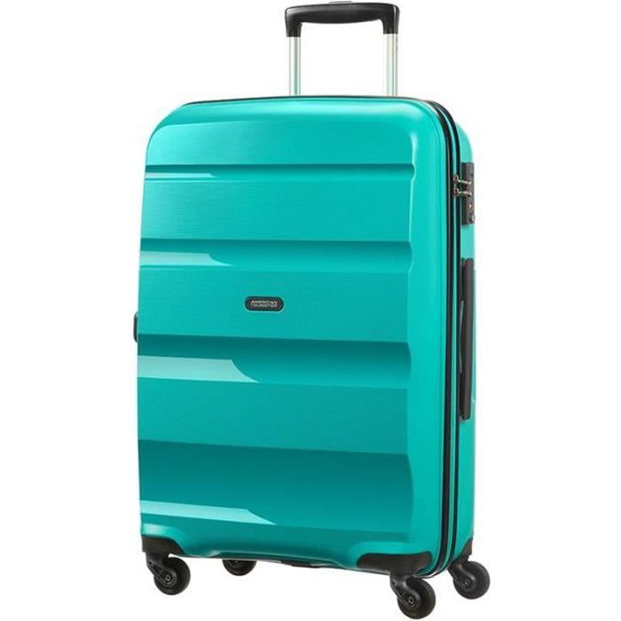 Valise rigide American Tourister Bon Air 66 cm White / Blue blanc 5xzLX