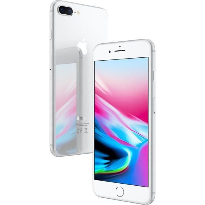 SMARTPHONE iPhone X 256 Go Argent Reconditionné - Très bon Et