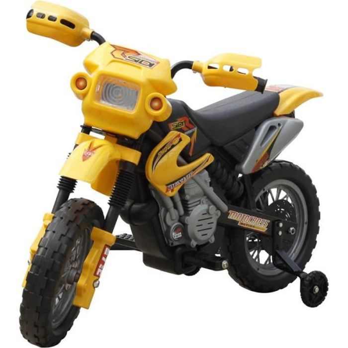 mini moto cross pour enfant lectrique jeux jouets 0102009 achat vente moto scooter. Black Bedroom Furniture Sets. Home Design Ideas