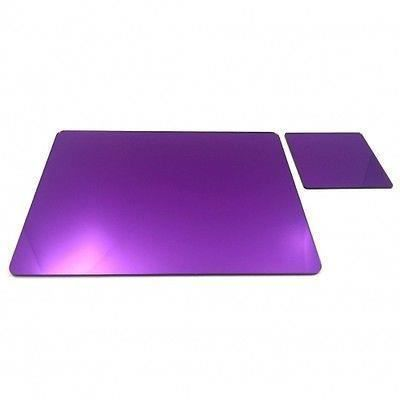 6 acrylique miroir violet napperons et sous verres achat vente chemin de table cdiscount. Black Bedroom Furniture Sets. Home Design Ideas