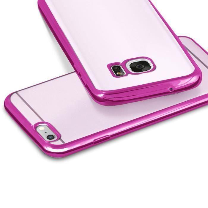 CABLING® Coque Samsung Galaxy A3 2017 [Rose] - Coque de protection GA3 2017 [Anti-rayures][Minimaliste][Ajusteme…