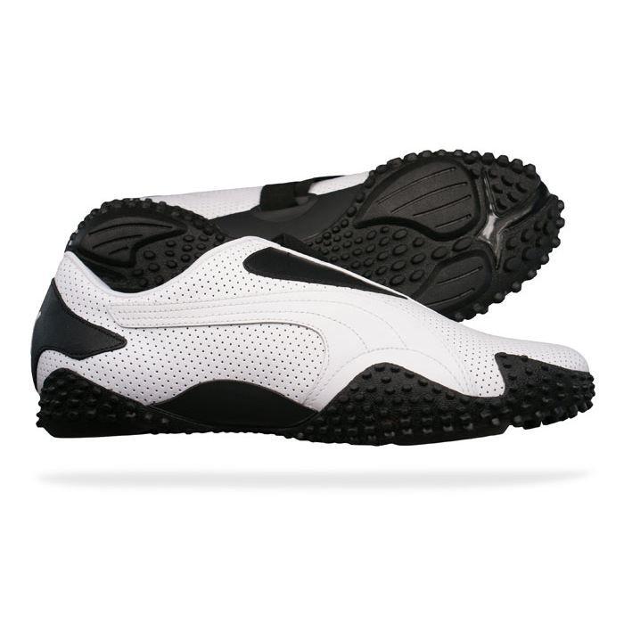 Puma Mostro Perf Cuir hommes Cha… Blanc blanc - Cdiscount Chaussures