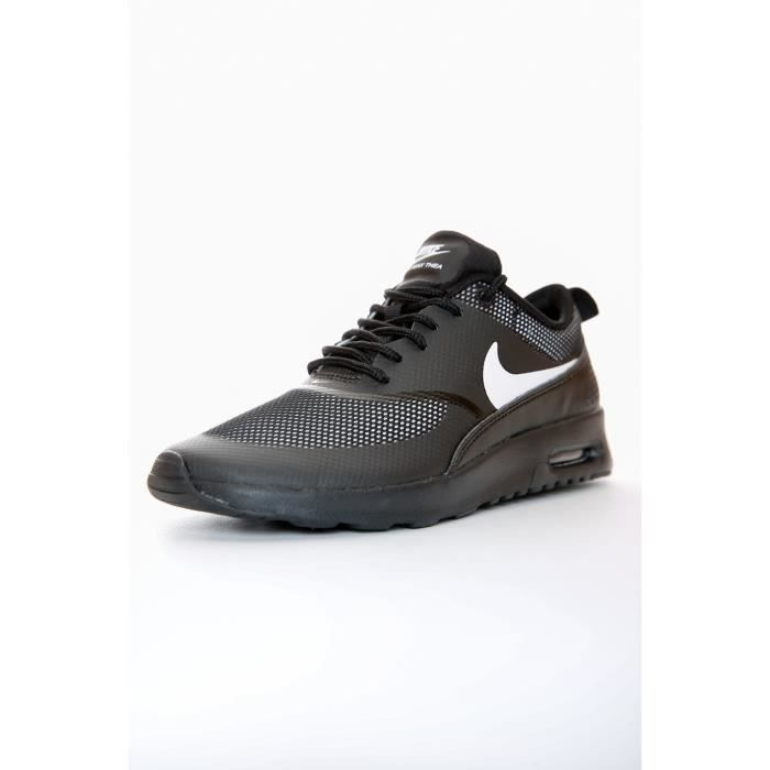 basket femme nike air max thea n noir noir achat vente basket cdiscount. Black Bedroom Furniture Sets. Home Design Ideas