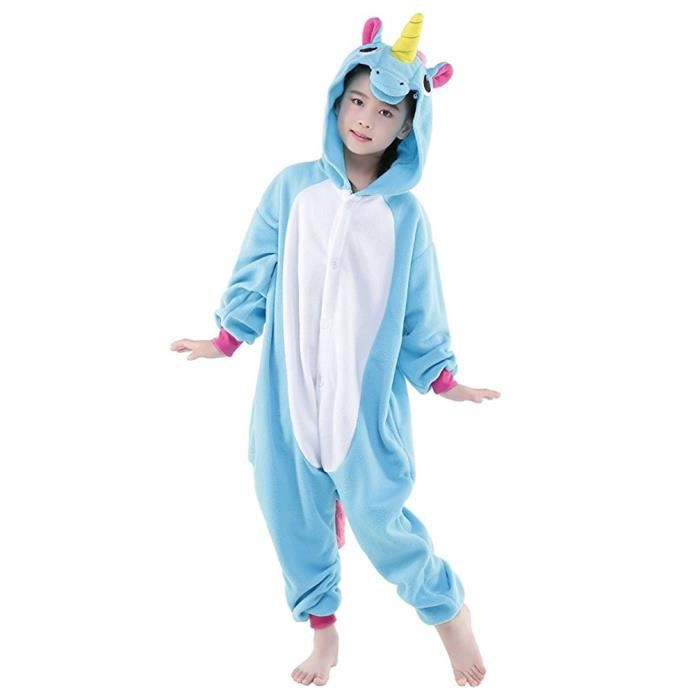 kigurumi pyjama enfant d guisement licorne combinaison grenouill re cosplay costume cadeau pour. Black Bedroom Furniture Sets. Home Design Ideas