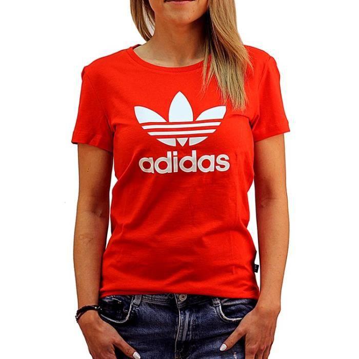 adidas tee shirt femme