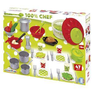 DINETTE - CUISINE ECOIFFIER CHEF - 2621 - Coffret Cooking - Pro Cook