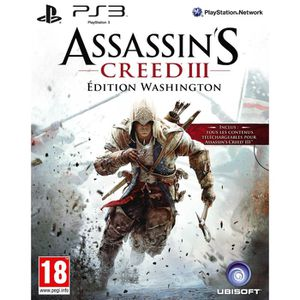 JEU PS3 ASSASSIN'S CREED 3 ED. WASHINGTON / Jeu PS3