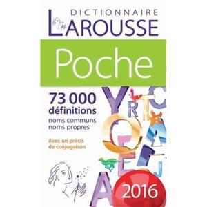 DICTIONNAIRES Dictionnaire Larousse de poche