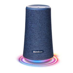 ENCEINTE NOMADE Anker SoundCore Flare+, Sans fil, Bleu, Cylindre,