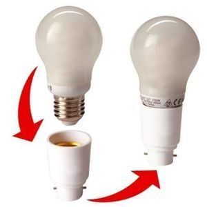 AMPOULE - LED Marchelec -Lot de 2 - Adaptateur de Douille B22 ve