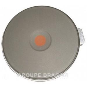 PIÈCE APPAREIL CUISSON PLAQUE ELECTRIQUE D180 1500W POUR TABLE DE CUISSON