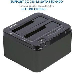 STATION D'ACCUEIL  2 optimisé Docking UASP Station d'accueil USB3.0 p
