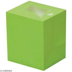 PHOTOPHORE - LANTERNE Lanterne en papier non inflammable - Vert Lanterne