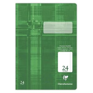 CAHIER Clairefontaine cahier a4 premium 331024C blanches