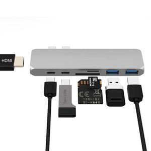 HUB Adaptateur USB C vers HDMI, Hub Type C vers HDMI,