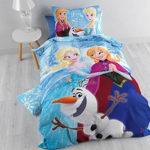 linge de lit reine des neiges achat vente linge de lit reine des neiges pas cher soldes d. Black Bedroom Furniture Sets. Home Design Ideas