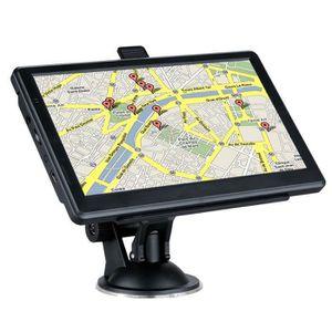 GPS AUTO FLOUREON Navigateur 8Go 7 Pouces Écran Tactile FM