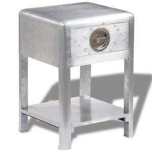 TABLE BASSE Table d'appoint table basse avec 1 tiroir de range