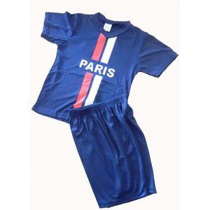 TENUE DE FOOTBALL MAILLOT DE FOOT PARIS N°10 SHORT PSG