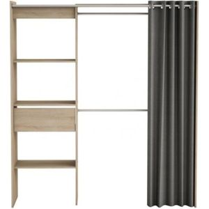 kit dressing achat vente kit dressing pas cher cdiscount. Black Bedroom Furniture Sets. Home Design Ideas