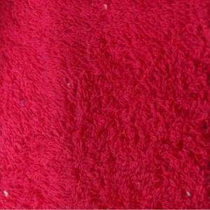TISSU Tissu Eponge Bouclette Fuchsia - Tissu au mètre -