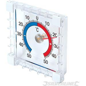 THERMOMÈTRE - BAROMÈTRE Thermomètre intérieur/extérieur à coller