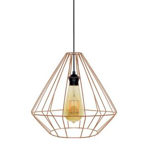 LUSTRE ET SUSPENSION DIAMOND Suspension filaire - Ø 40 x H 40 à 90 cm -