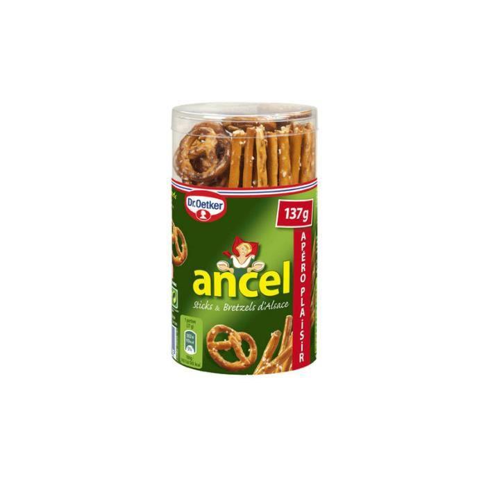 ANCEL Sticks et bretzel - 137g