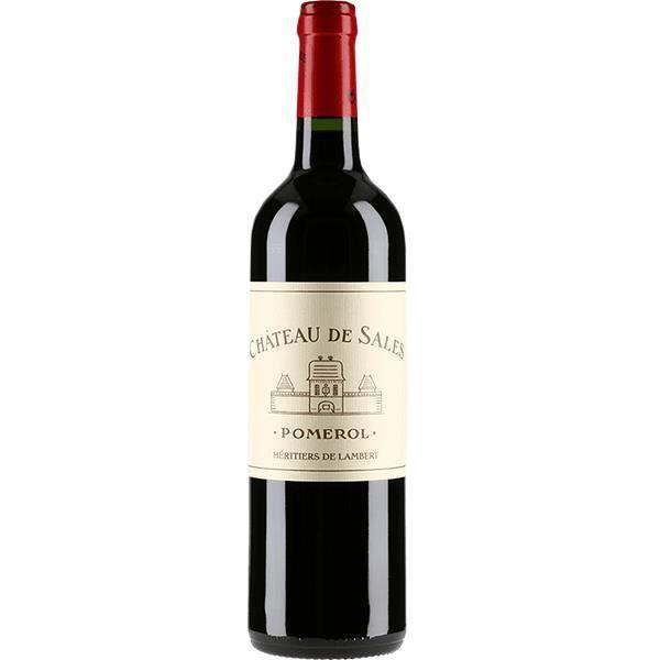 Château SALES - 2017 - POMEROL - 750 ml