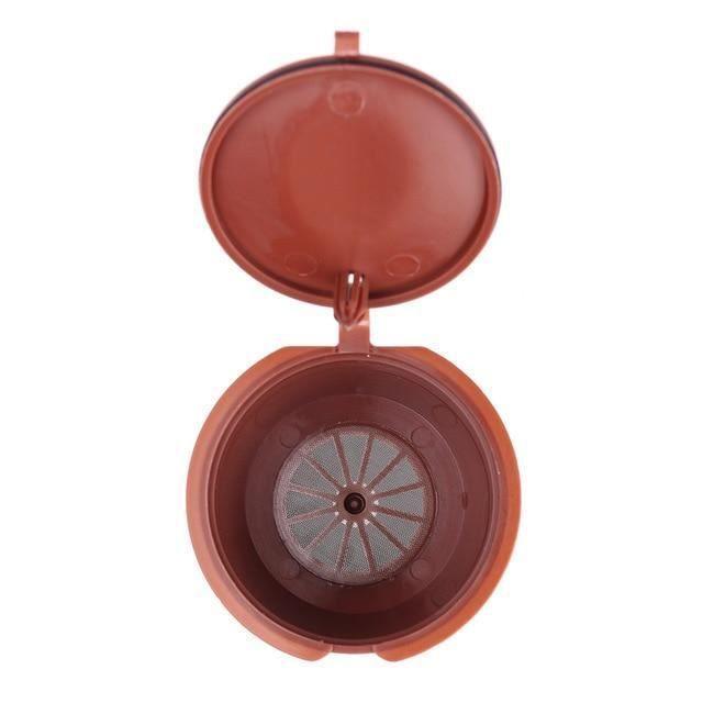 [1 PCS] Cafe capsule de cafe reutilisable pour tous les modeles nescafe dolce gusto paniers filtres rechargeables