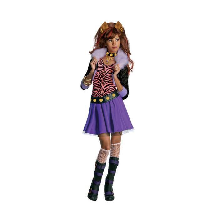 Monster High costume de loup Clawdeen Size: M