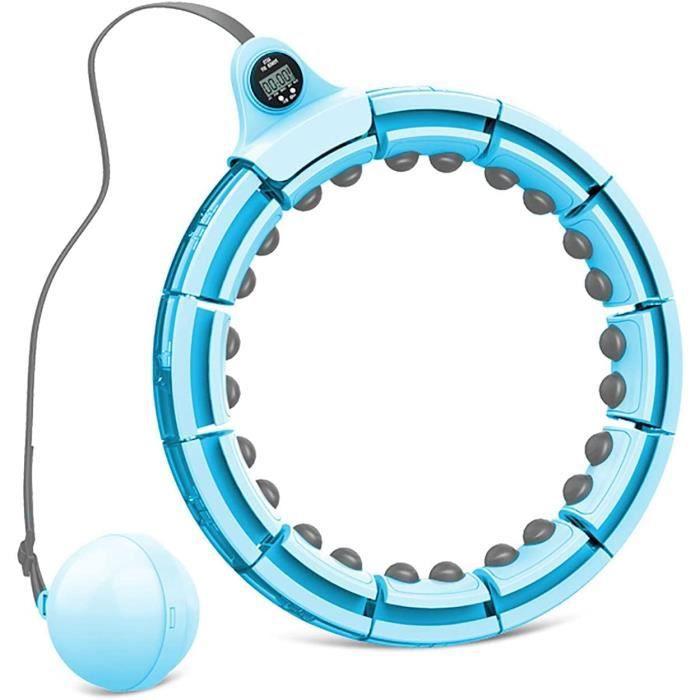 XIAOPENG Hula Hoop Hula-Ring Intelligent pour Adultes, Fitness Hu-la-Hoop pour Perdre du Poids, Taille R&eacuteglable, Adultes, 498