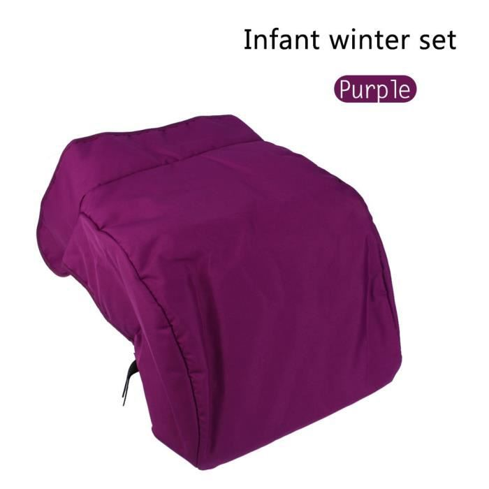 ARAMOX protège-pieds d'hiver pour poussette Universel chaud bébé enfants poussette poussette landau buggy chancelière couverture
