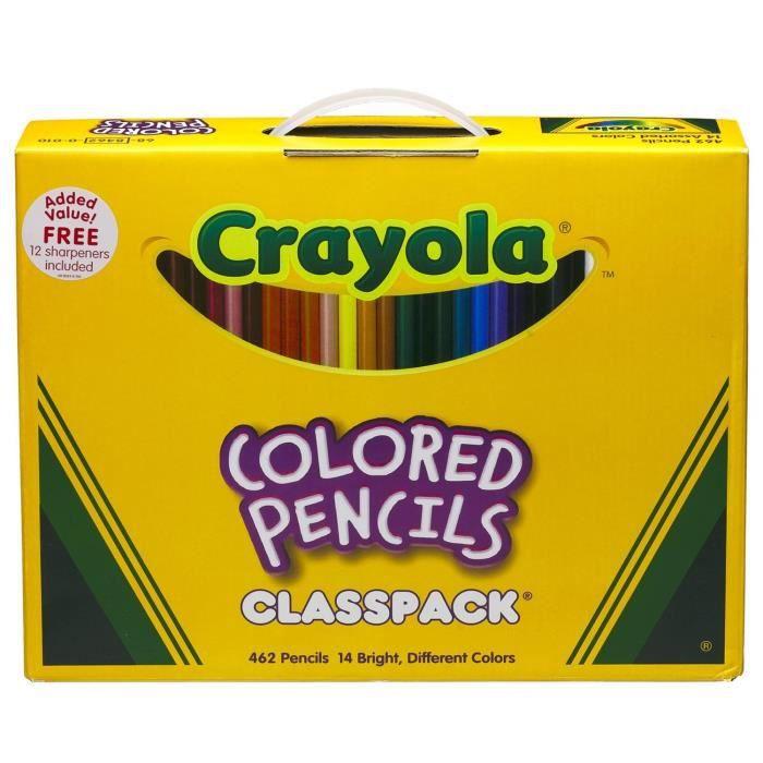 Crayola 68-8462, 462 pièce(s), Garçon-Fille, Multicolore, Rond, Boîte en carton