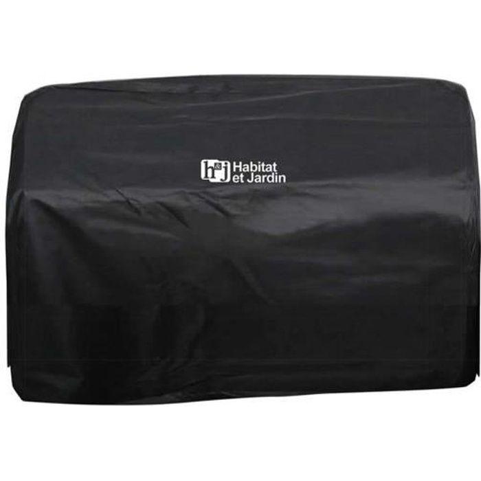 Housse pour plancha -Presto 3- - 64 x 16 cm - Noir