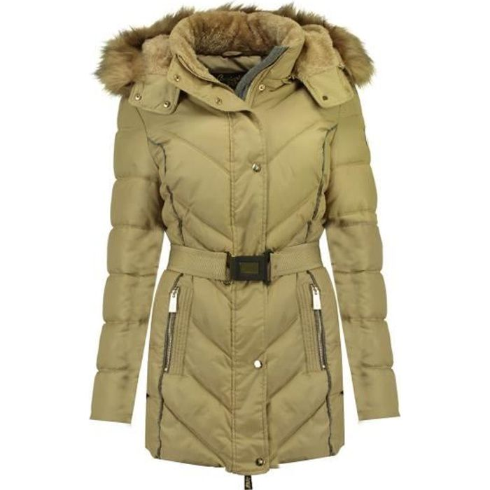 Doudoune Femme Geographical Norway Becky Beige