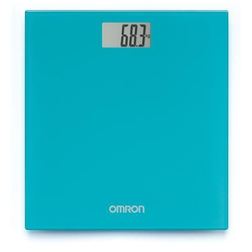 Pèse-personne digital turquoise Omron HN289EB