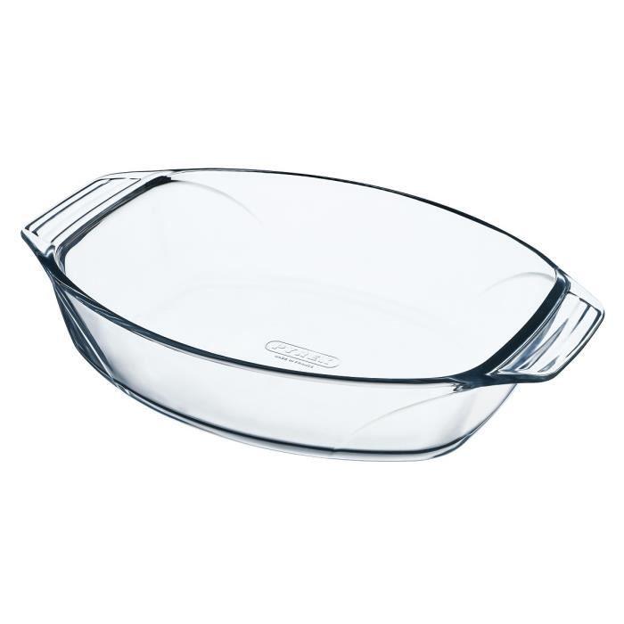 PYREX Plat à four ovale 30x21 cm transparent