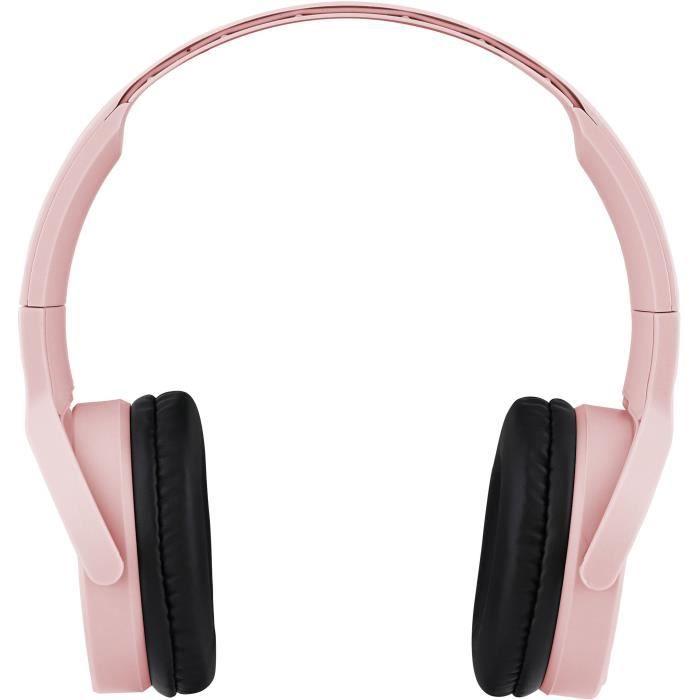 SINGLE - Casque Bluetooth sans fil 5.0 - rose Gold