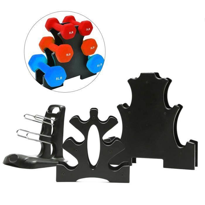 3 couches haltère rack peut contenir 30 livres d'outils ménagers